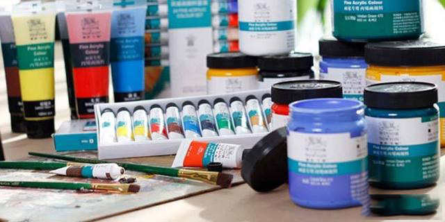 how to mix acrylic paint