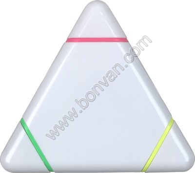triangular highlighter marker