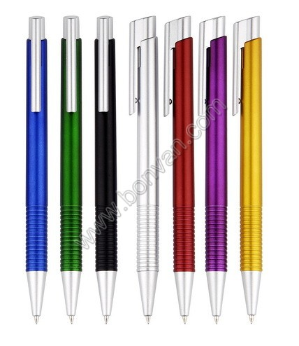 metallic body ball pen
